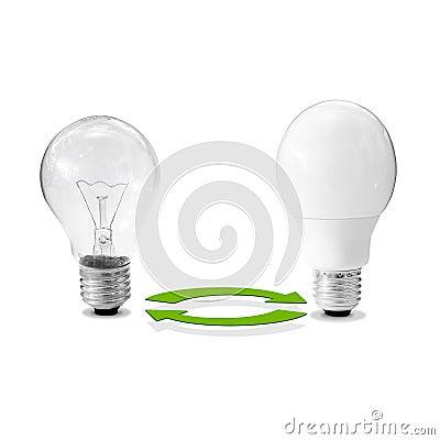 Energy-efficient lamp