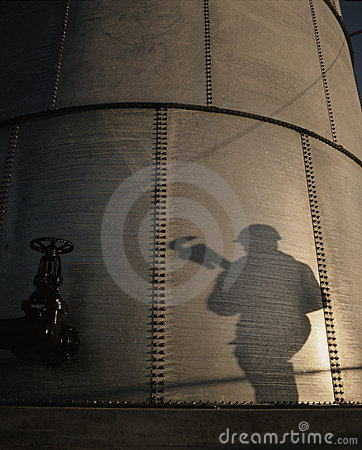 Free ENERGY ENVIRONMENTAL OIL GAS INDUSTRY STORAGE TANK TECHNOLOGY Stock Images - 2697874