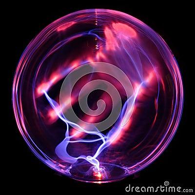 Energy globe, with hand