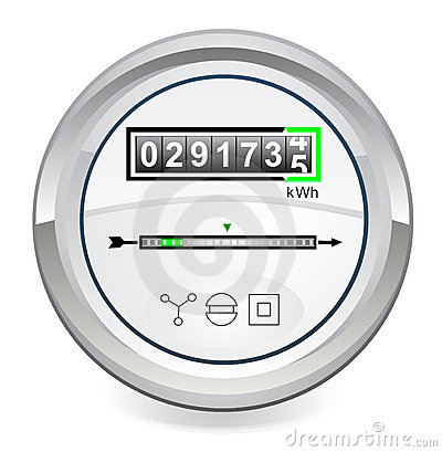 Free Energy Meter Stock Photos - 21981663
