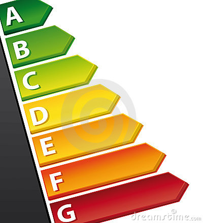 Energy rating chart.