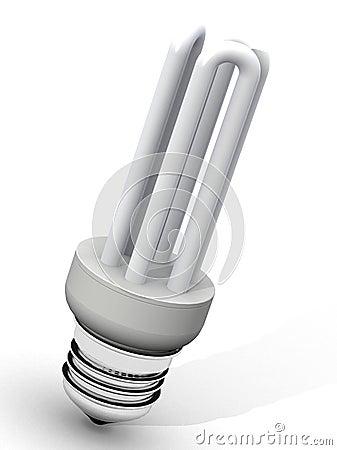 Free Energy Saver Light Bulb Stock Photo - 1867490