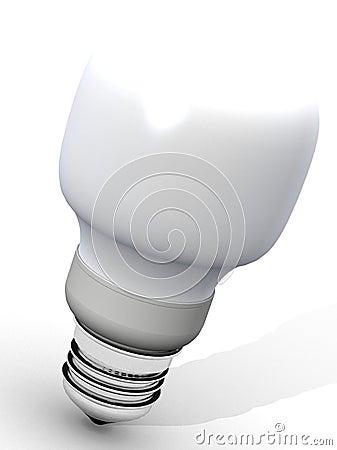 Free Energy Saver Light Bulb Stock Photos - 1867503