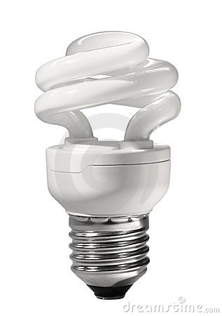 Energy saving compact fluorescent lamp