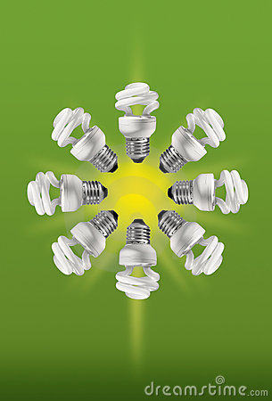 Energy saving compact fluorescent lamps