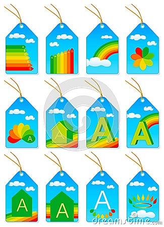 Energy saving labels