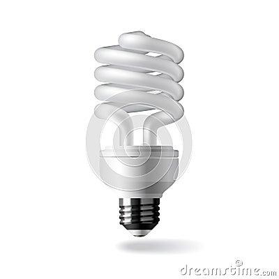 Free Energy Saving Light Bulb Royalty Free Stock Images - 6375969