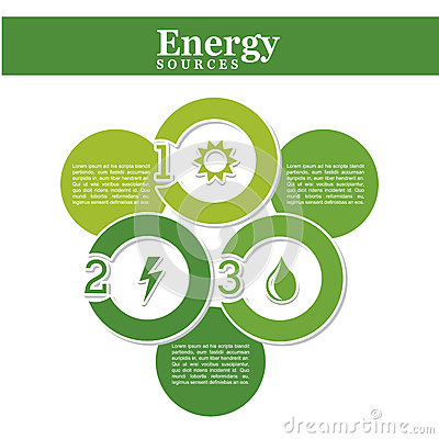 Energy source Vector Illustration