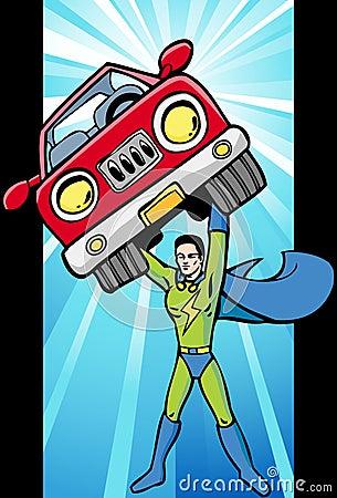 Energy Superhero Glow