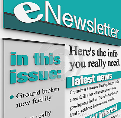 ENewsletter Alert Issue Email News Update