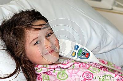 Enfant dans l hôpital