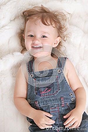 Enfant joyeux