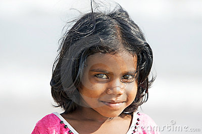 Enfants indiens Photo stock éditorial
