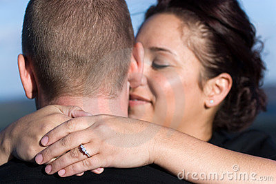 Engaged Couple Royalty Free Stock Photos - Image: 11692738