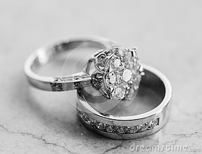 Engagement ring set