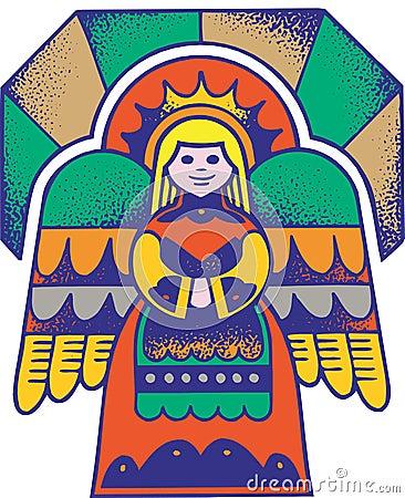 Engel 1 van Kerstmis