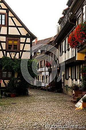 Engelgasse, Gengenbach, Black Forest Germany