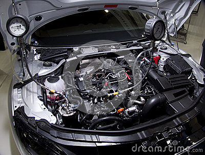 Service personal training car engine Audi TT
