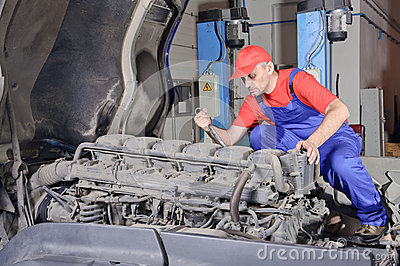 Engine repair hobby