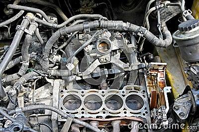 Engine reparation