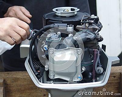 Engine test 001