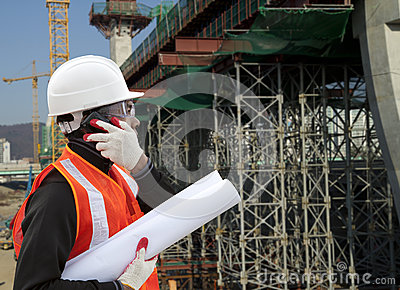 Engineer a construction site using cellphone