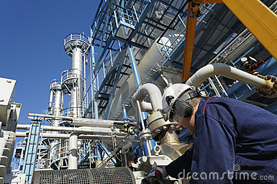 Engineer, oil, fuel and gas