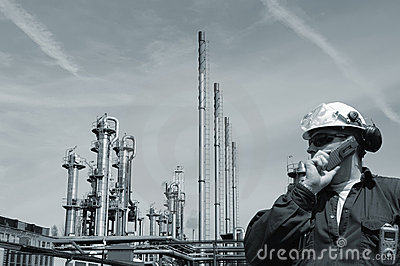 Engineer and oil and gas industry