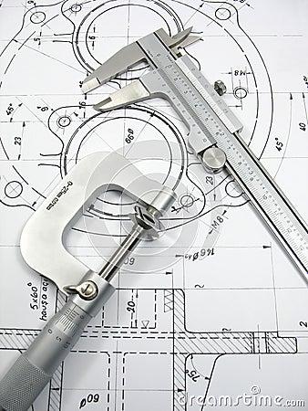 Free Engineering Tools Stock Photo - 5313710