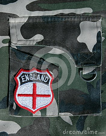 England Badge.