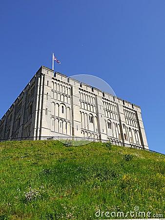 England: Norwich castle hill