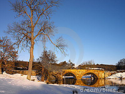 England północna scenerii zima Yorkshire