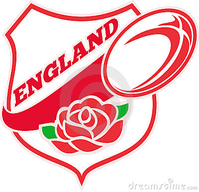 England Rugby Ball English Rose