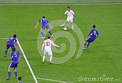 England - San Marino Editorial Stock Image
