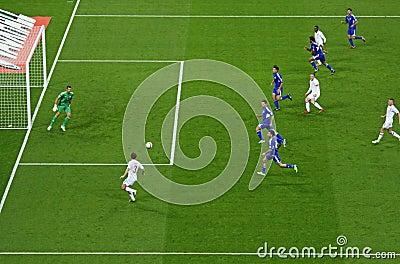 England - San Marino Editorial Photography