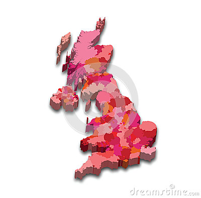 England State Map