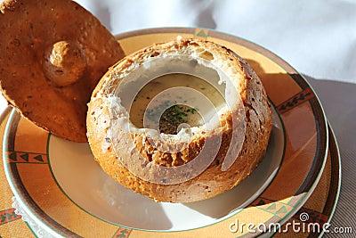 England-Style Clam Chowder