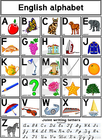 Free English Alphabet Stock Photo - 8039760