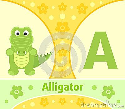 The English alphabet A