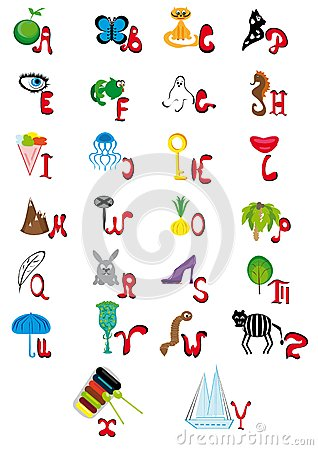 English animated alphabet