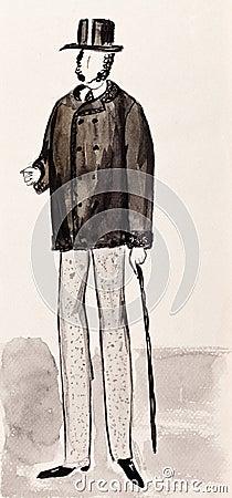 English bourgeois gentleman