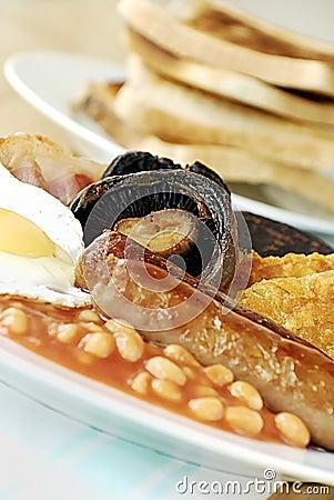 Free English Breakfast Royalty Free Stock Photo - 9286085