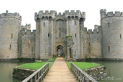 English castle in england