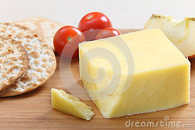 English Cheddar cheese