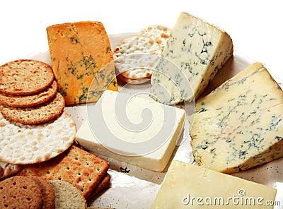 English cheese platter horizontal