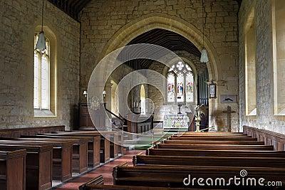 English church interior