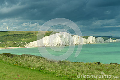 English coast - Seven sisters cliff