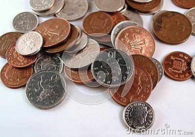 English Coins, UK