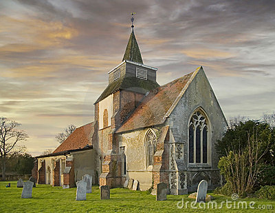 English country church
