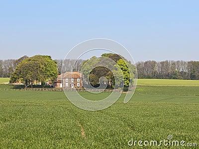 English country farm